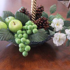 クリスマスのテーブル花