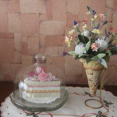 フェイク! ショートケーキ & ソフトクリーム